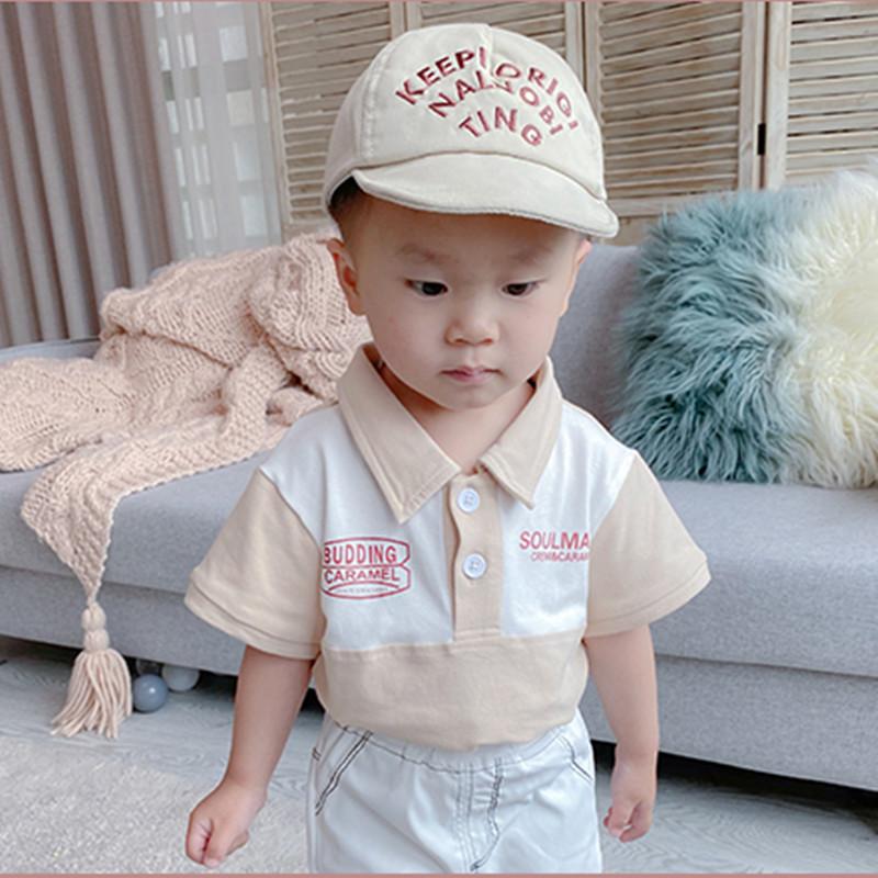 男童Polo衫夏季薄款童装宝宝短袖T恤纯棉韩版儿童夏装上衣中小童