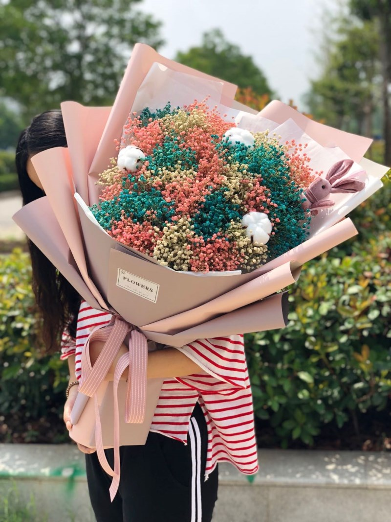 Big bunch of starry dried flowers bouquet graduation photo to send big bunch of starry dried flowers bouquet graduation photo to send lover friend girlfriends holiday birthday gift ins photo izmirmasajfo