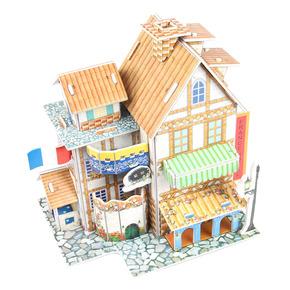 3D立体拼图 拼装模型益智玩具