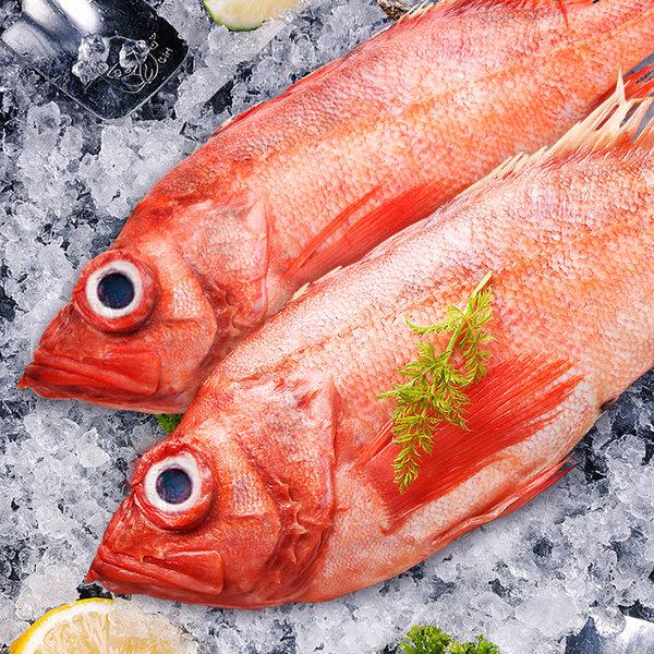 Seamix 禧美海产 鲜活船冻 深海红石斑鱼 3-4条共约4.5斤 天猫优惠券折后¥88包邮(¥98-10)