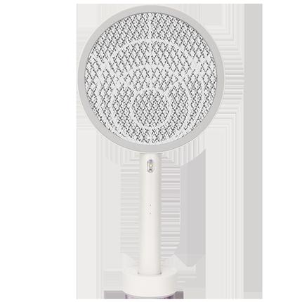 标兵电蚊拍充电式家用锂电池usb充电式LED灯灭蚊子苍蝇强力多功能