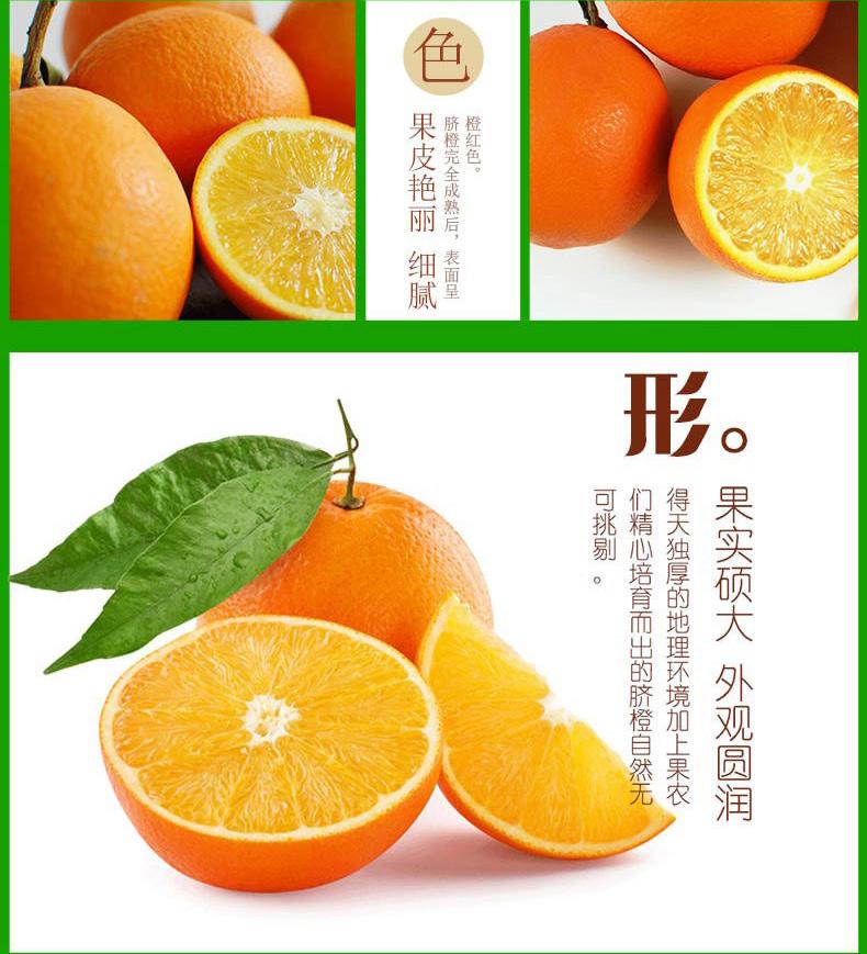 正宗重庆奉节脐橙农家新鲜孕妇甜橙子非赣南秭归挤橙现摘水果全国大部分地区包邮  第21张