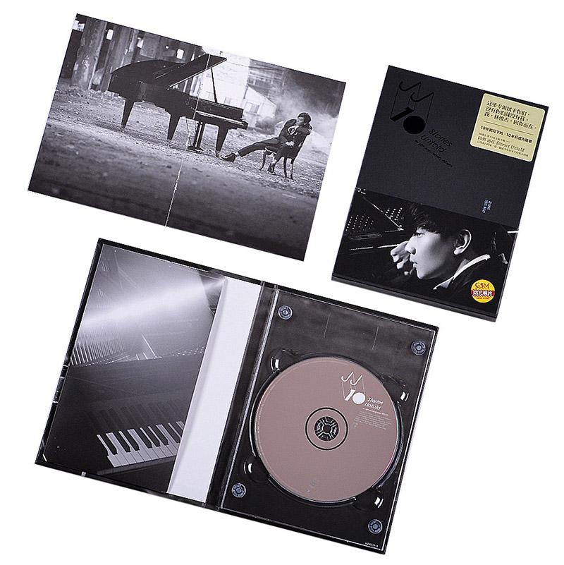 唱片林俊杰因你而在2013专辑CD+写真歌词本流行华语正版音乐