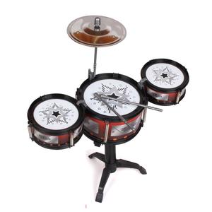 儿童爵士鼓玩具架子鼓鼓棒模型套装初学者大号椅练习仿真敲打乐器