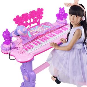 儿童益智早教玩具电子琴玩具女孩1-8岁初学音乐钢琴启蒙