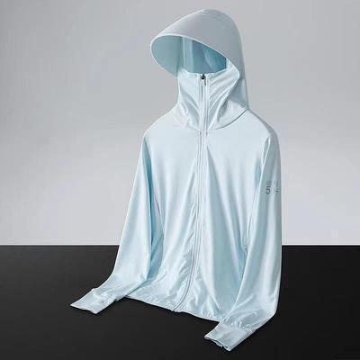 UPF50+2021夏季新款冰丝防晒衣女男外套潮薄款透气防晒服防紫外线