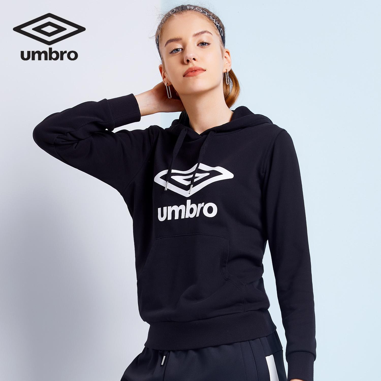 Umbro umbro thời trang nữ giải trí thể thao trùm đầu áo len rộng trùm đầu nữ phiên bản Hàn Quốc - Thể thao lông cừu / jumper