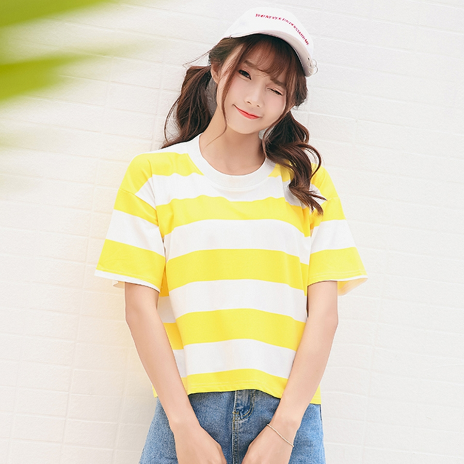 9208 Candy Striped Yellow