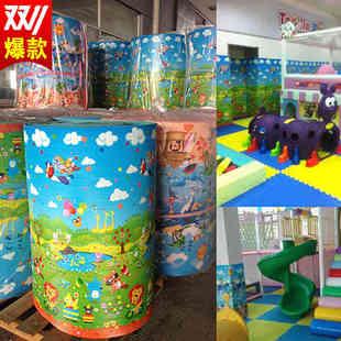 幼儿园儿童防撞墙贴软包宝宝床边墙围卡通墙垫墙纸海绵泡沫自粘贴