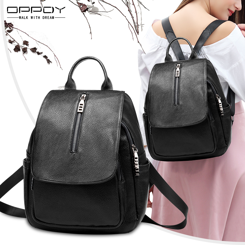 OPPDY Opti to 2019 autumn and winter New Fashion Leather Shoulder Bag  female Korean version of 9850f3396d502