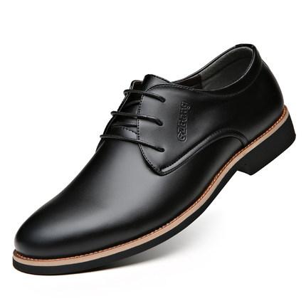 新款商务正装男英伦系皮鞋
