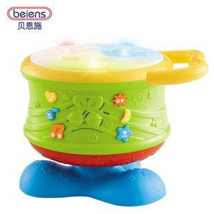 贝恩施宝宝手拍鼓早教益智玩具