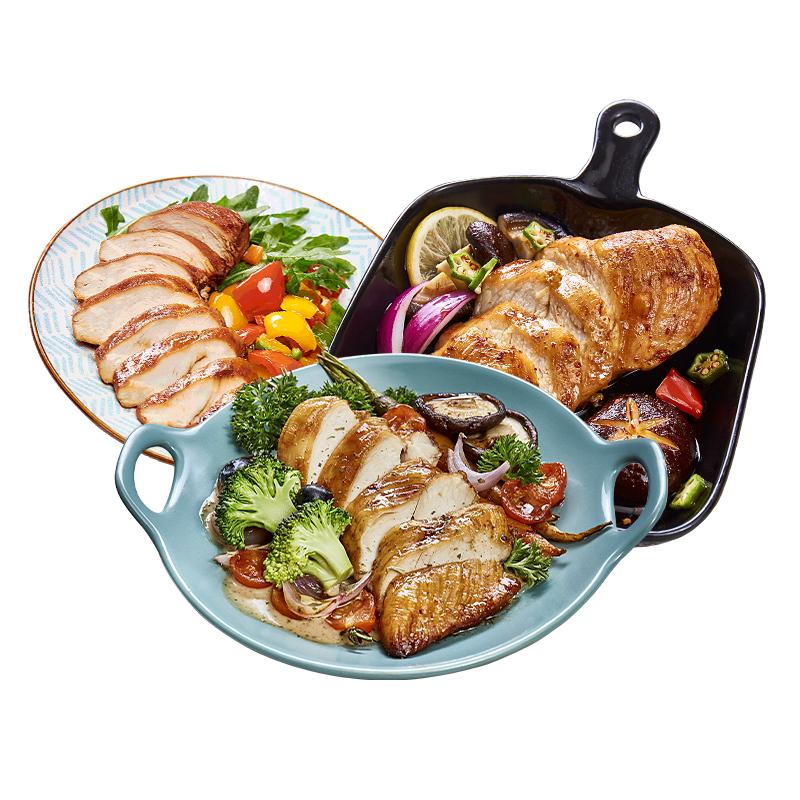 优形鸡胸肉健身代餐开袋即食速食轻食餐优型低脂高蛋白100g*9袋