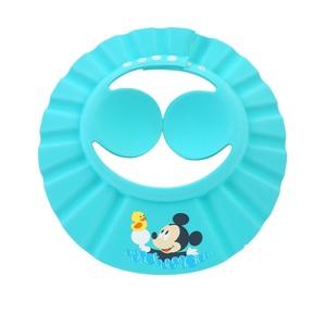 迪士尼寶寶洗頭神器嬰兒洗發帽護耳防水頭帽兒童浴帽小孩洗澡帽子