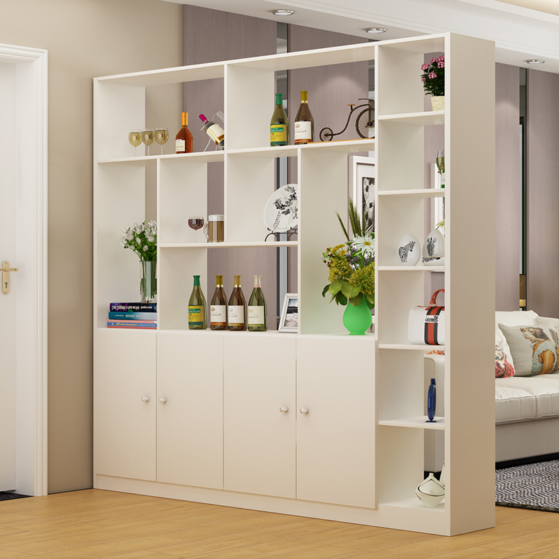 Modern Minimalist Wine Cabinet Hall Cabinet Living Room Porch Partition  Cabinet Screen Cabinet Shoe Storage Door ...