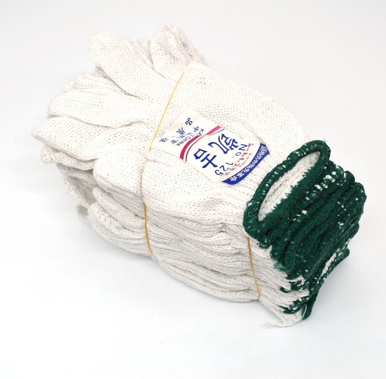 手套手套手套百货棉纱白色线劳保万辉劳动手套一包