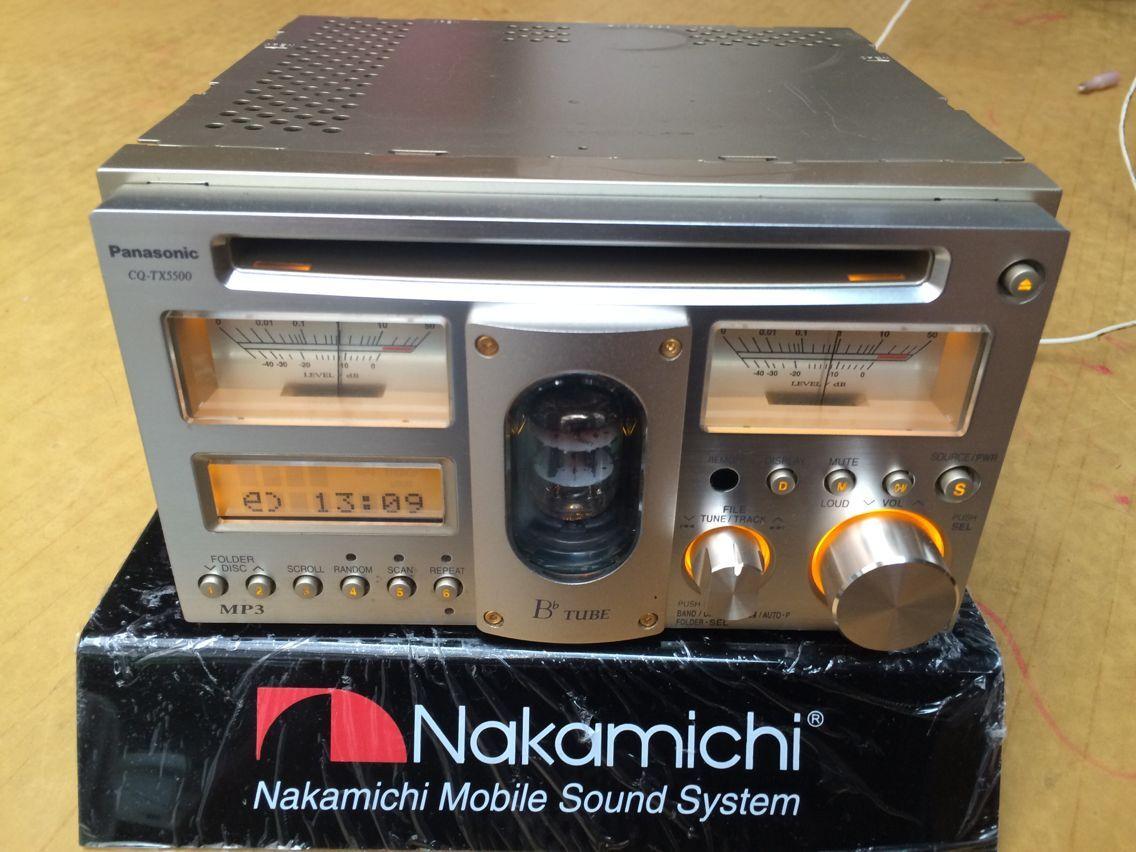 Автомагнитола Panasonic  CD CQ-TX5500D CD
