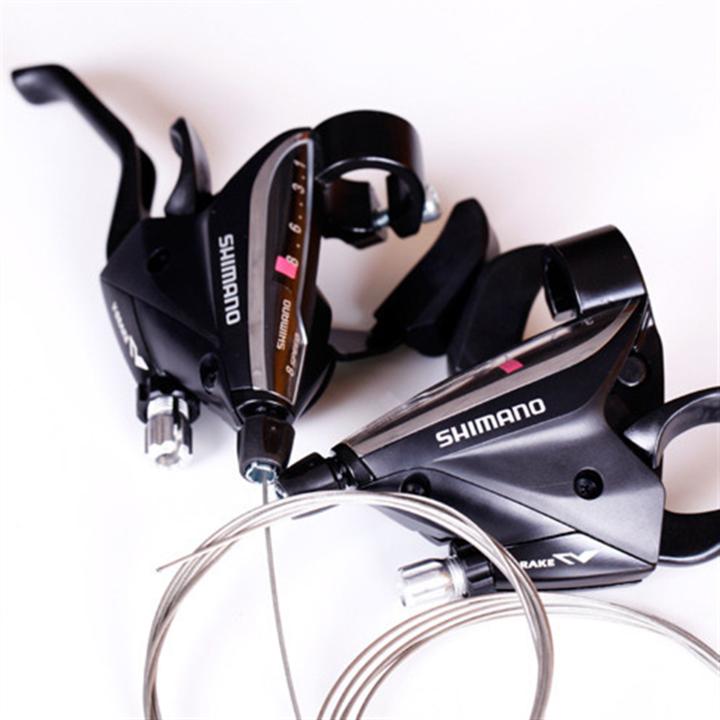 Бесплатная доставка 24/27 скорость горный велосипед сиамский ассигновывать велосипед переключение передач устройство EF65 принцесса нородом тормоза переключение передач один