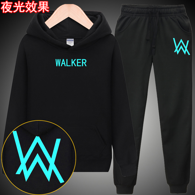 Luminous Watker (thin Section) Black Pants