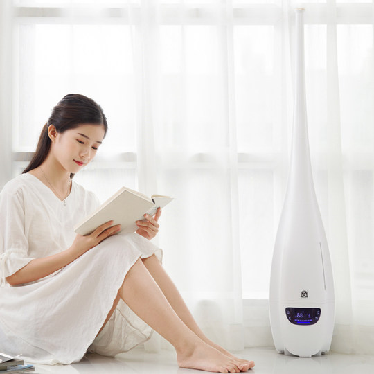 Rongsheng floor-standing humidifier household mute bedroom air-conditioning purification air large capacity large fog volume pregnant women and babies