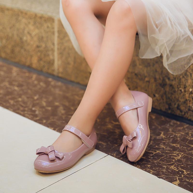 夏季小女孩百搭款软底公主鞋
