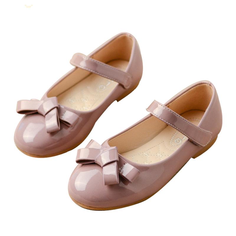 女童黑皮鞋公主鞋小女孩鞋子