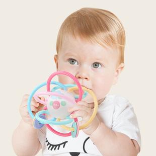 宝宝牙胶磨牙棒曼哈顿咬咬胶婴儿早教