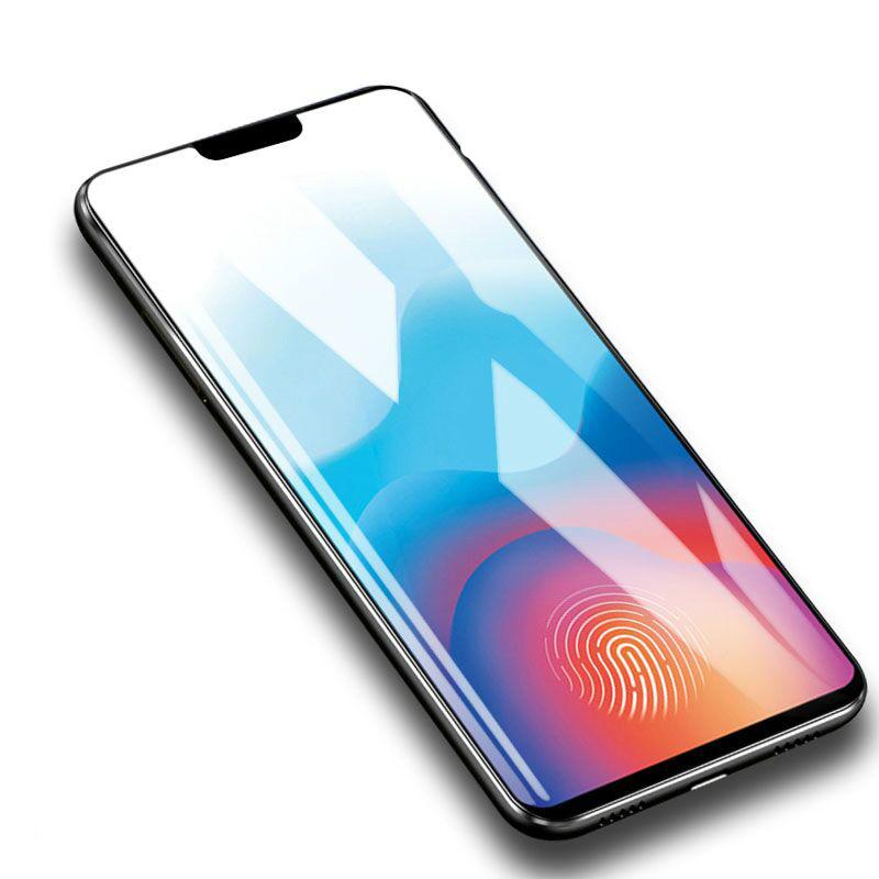 vivo x21钢化膜全Y85覆盖x20plus手机贴膜X20紫光磨砂膜y66/67