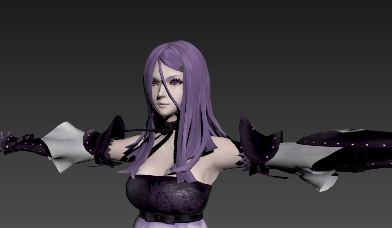 游戏角色3D模型 龙背上的骑兵3 游戏美术资源 模型 原画 设定 动画 动作全套素材  13