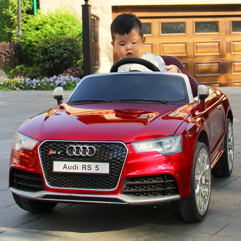 Audi Childrens Electric Car Fourwheeled Baby Car Childrens Toy - Audi electric toy car
