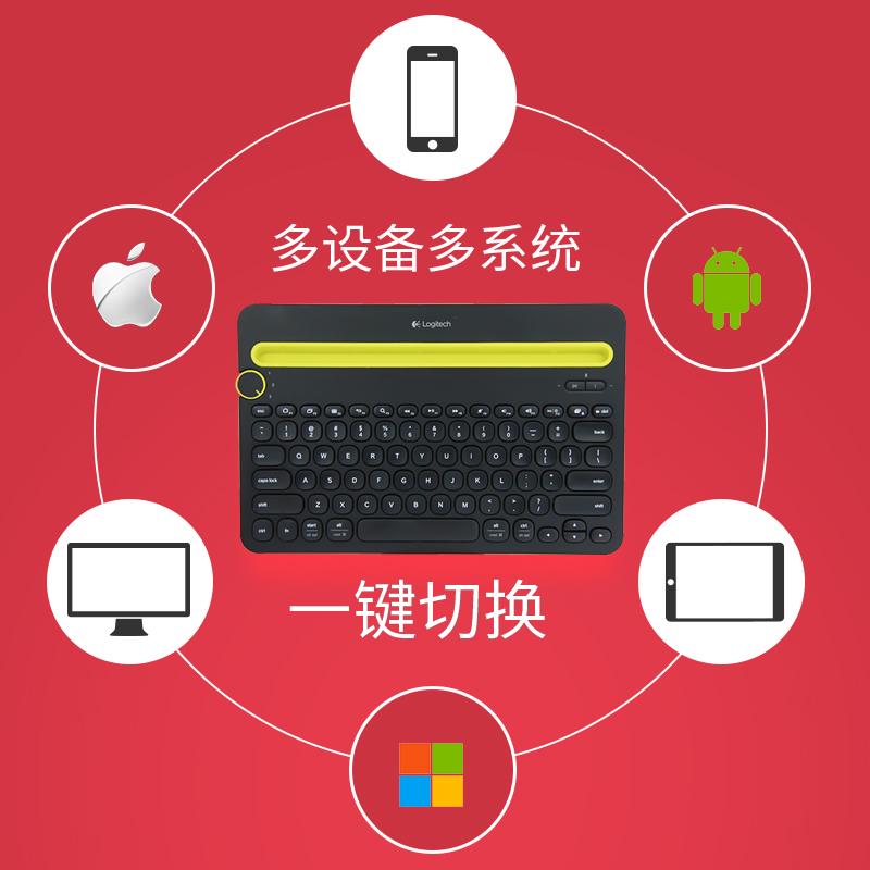 a89868fa01d Logitech K480 wireless Bluetooth keyboard M557/M558 mouse wireless mouse  and keyboard set laptop ipad tablet ...