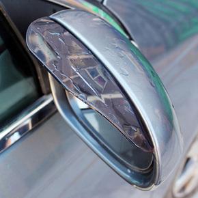 领标汽车后视镜雨眉遮雨板