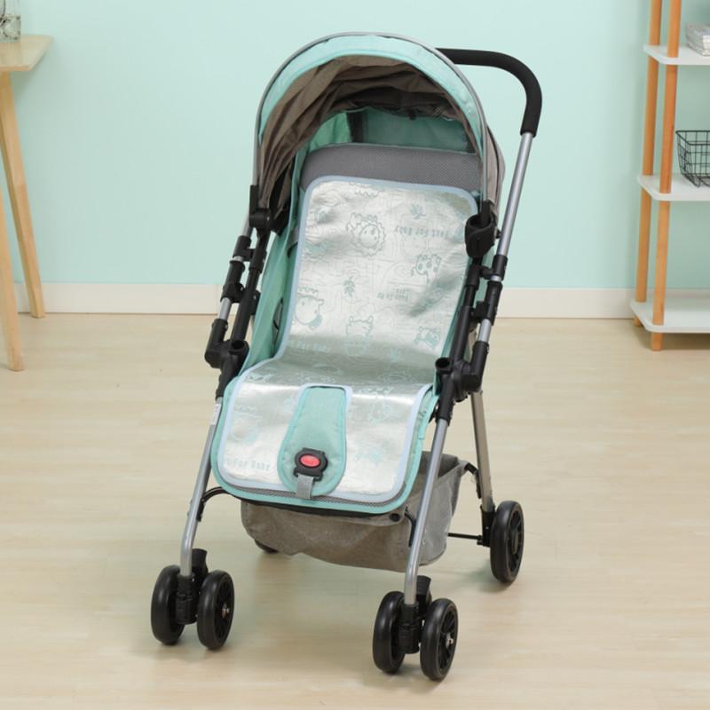 婴儿凉席夏季新生儿童幼儿园专用床午睡凉席冰丝床垫宝宝透气专用