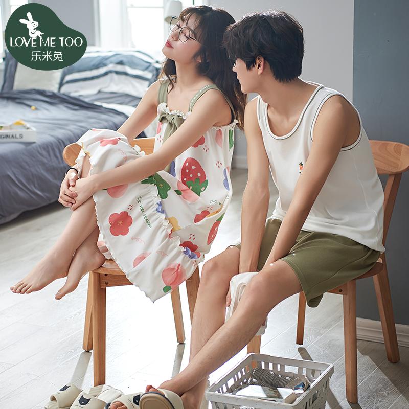 刚同居送女朋友什么礼物好?性感甜美的夏季情侣睡衣