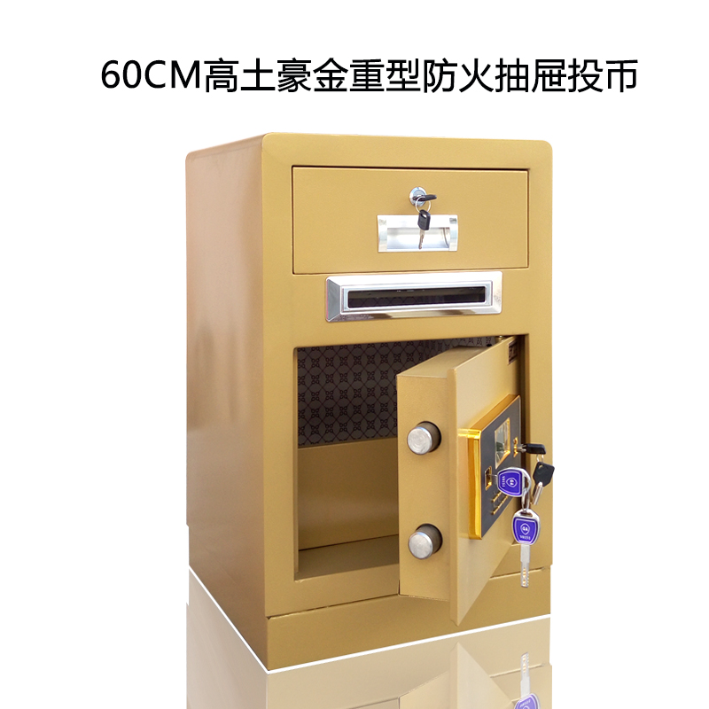 Новая коллекция Местная золотая 60 см тяжелая огнеупорная монета для ящика