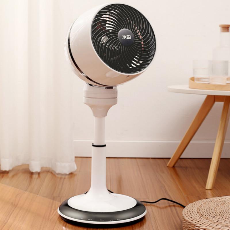 可遥控水田空气循环扇台立式电扇