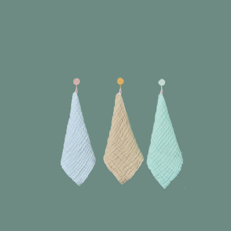 【南极人】宝宝纯棉口水巾3条装