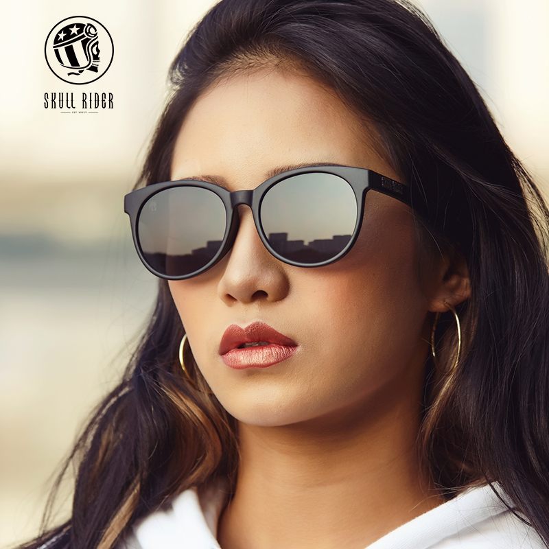 b82d97615d0 SR glasses male round face eyes Female Network red sunglasses female Korean  version of the tide retro Harajuku polarized sunglasses men