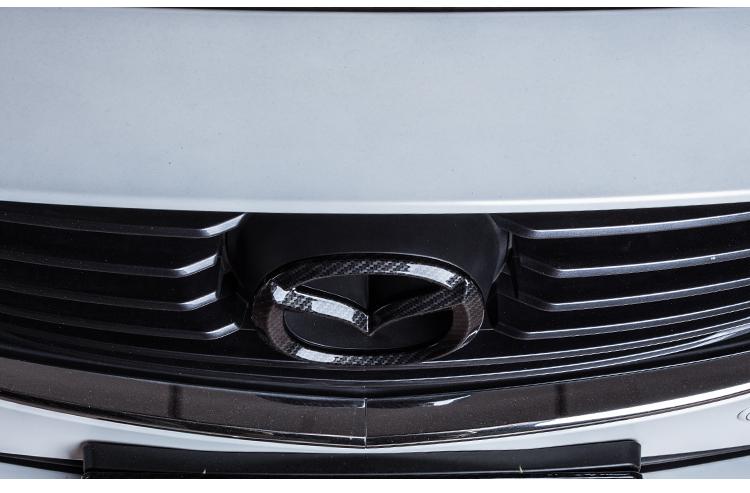 Logo Carbon trang trí trước sau xe Mazda 6 - ảnh 14