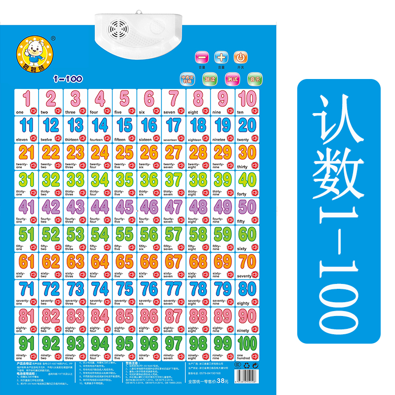 1 100 in chinese