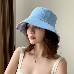 Net red fisherman hat, summer day double hat
