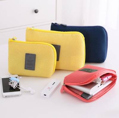 Digital Storage bag phone charging treasure data cable case charger portable travel pouch finishing package size