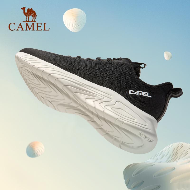 骆驼春季网面透气运动鞋