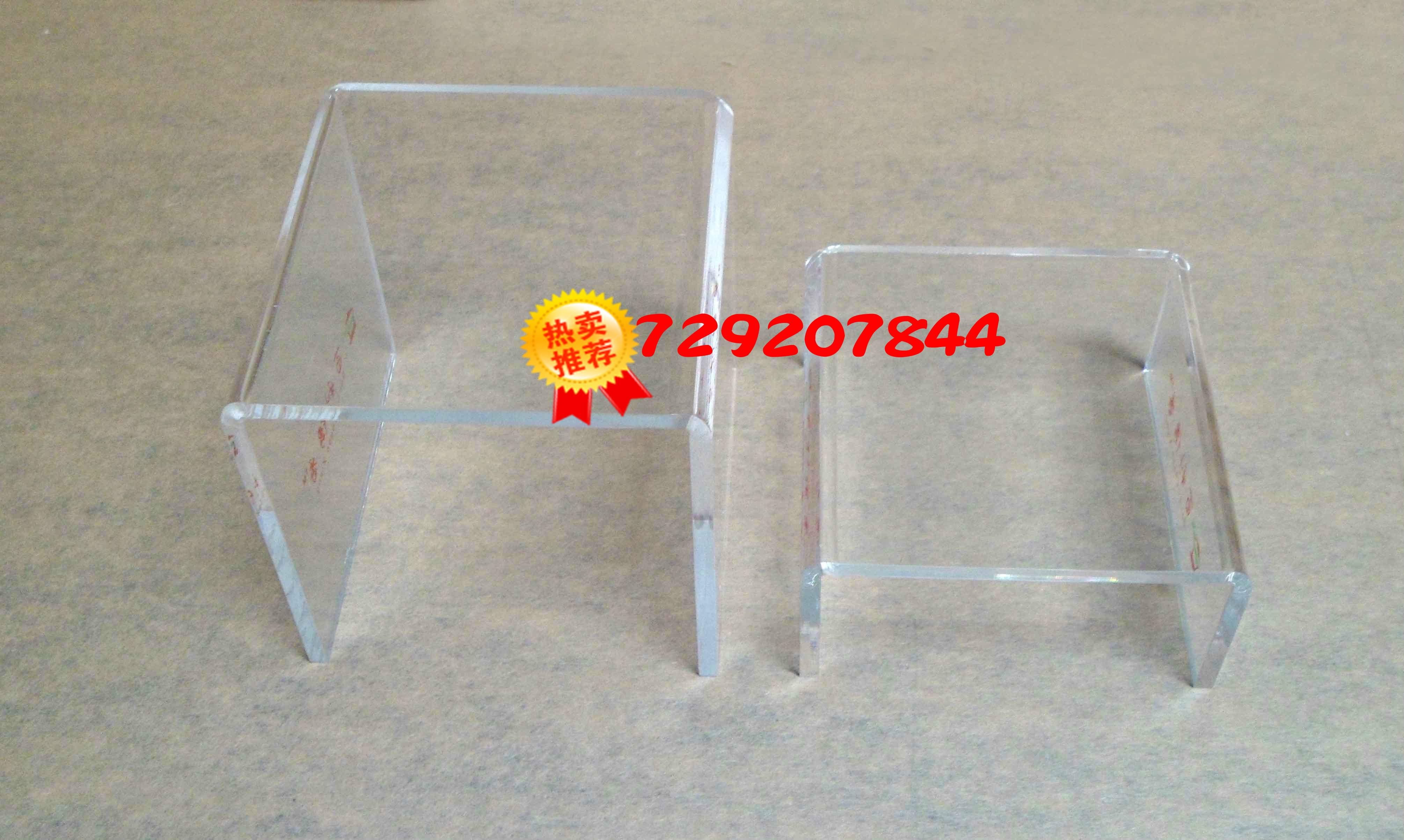 USD 7.29] Acrylic tea set display rack plexiglass U-frame cupware ...