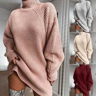 Кофты женские водолазка свитер платье jumper pull over