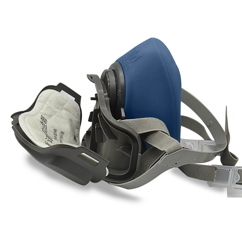 3M HF-52 silica gel dustproof gas mask mask to prevent organic vapor odor  and particulate harmful gases