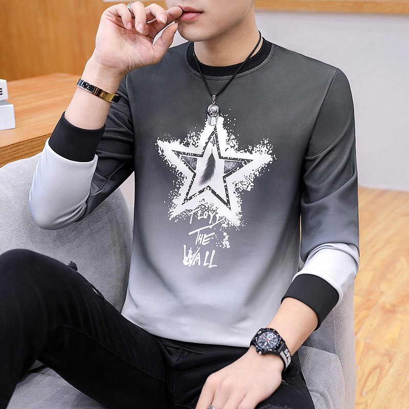 Pentagram Long Sleeve: Black