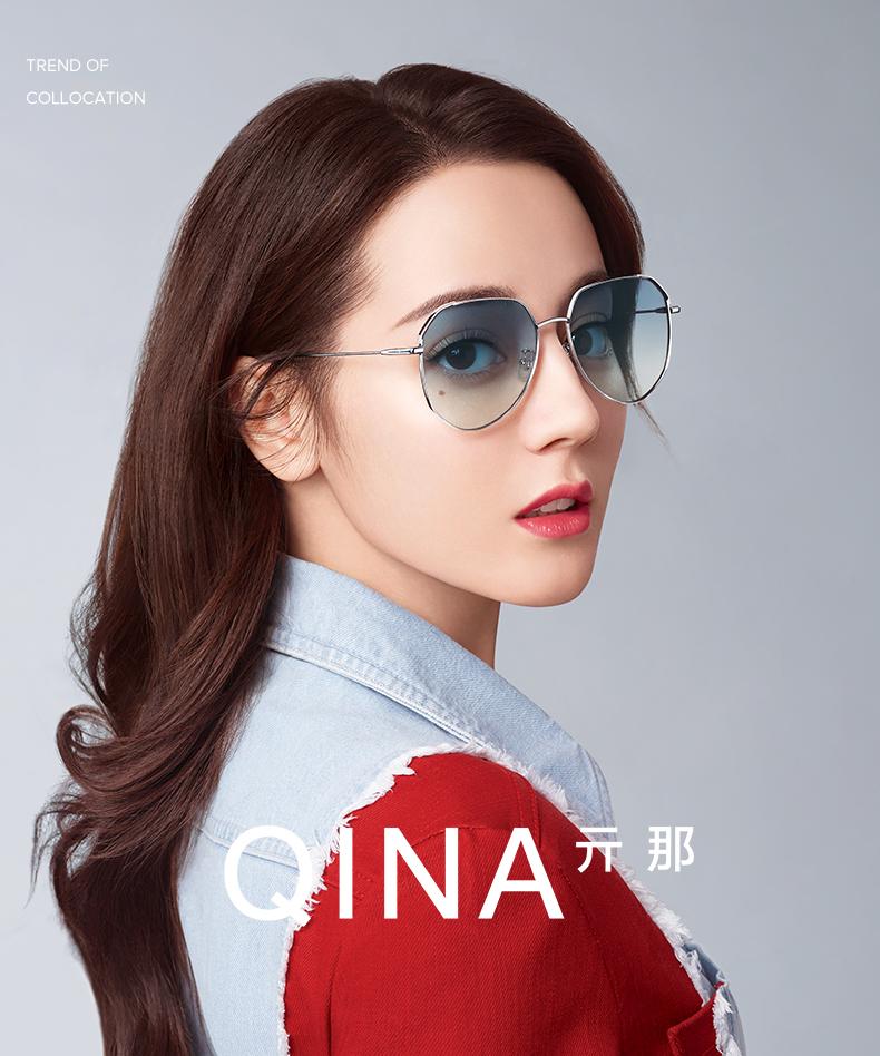 依路视旗下QINA 亓那 QN7011 经典款蛤蟆镜 太阳镜 天猫yabovip2018.com折后¥239包邮(¥259-20)多色可选 2件低至¥186.5/件