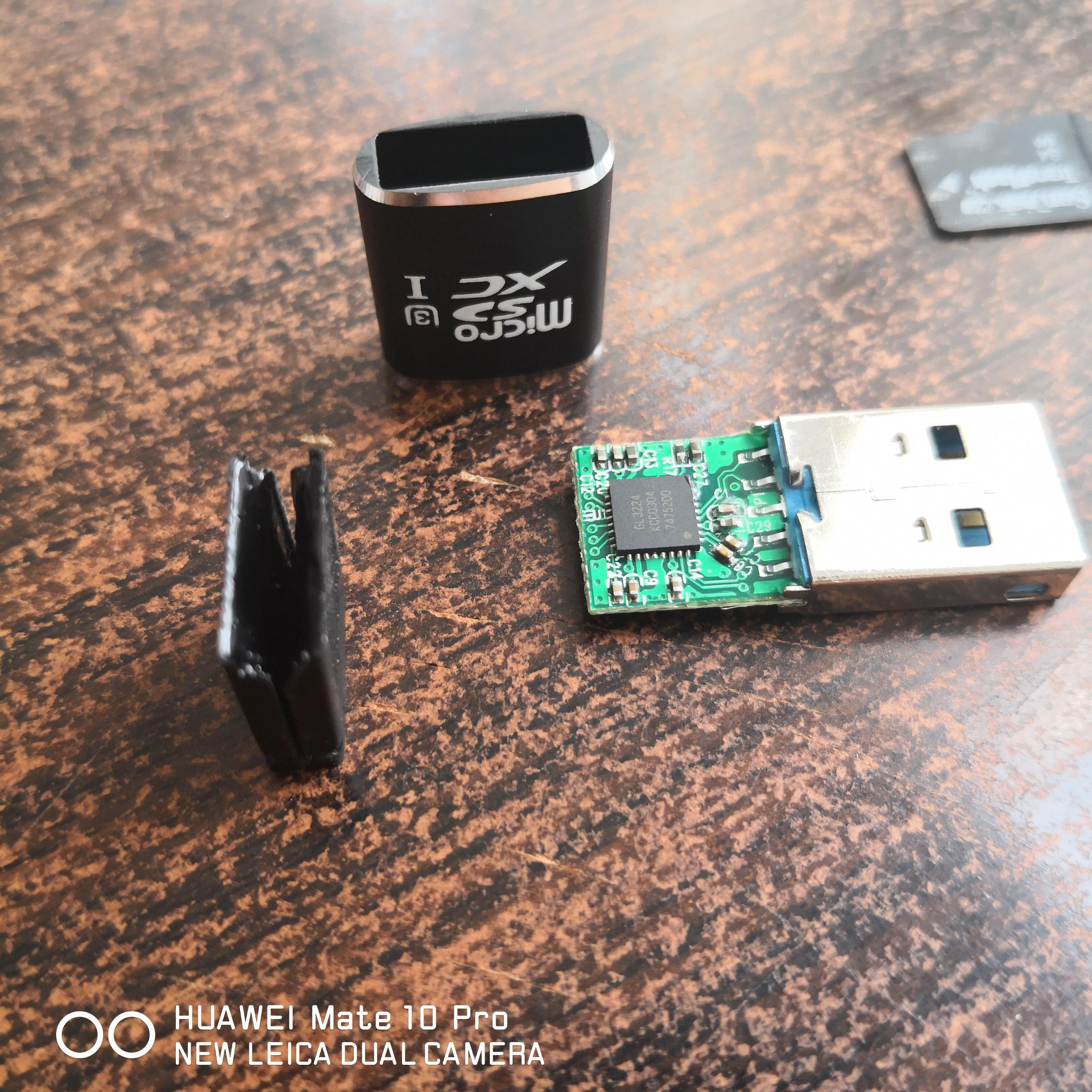 【獨家新品】USB 3.0迷你高速MicroSD鋁合金TF讀卡器 手機平板OTG內存卡支持U3