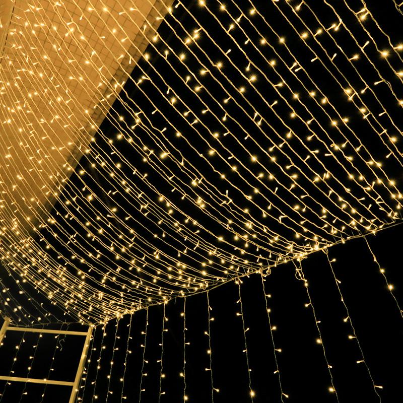 led小彩灯闪灯串灯满天星星灯串卧室房间浪漫布置装饰防水挂户外